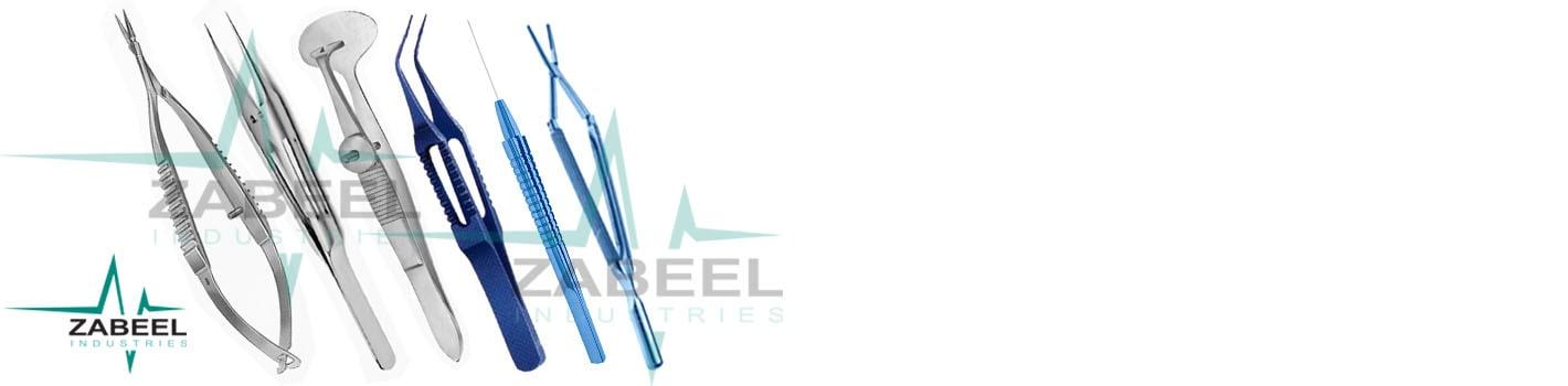 Eye Surgical Instruments -Zabeel