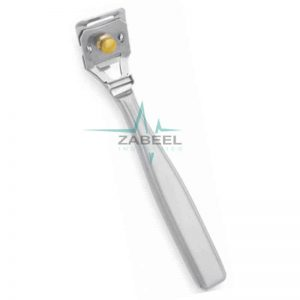 Callus Remover or hard dead skin Corn Cutter Metal Handle Zabeel