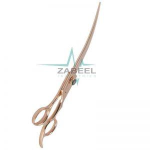 Curved Pet Grooming Shear ZaBeel