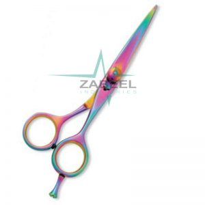 Professional Hair Cutting Scissor Razor Edge Multi color Coating ZaBeel