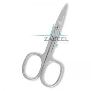 Nail Scissor Mirror Finish ZaBeel