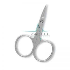 Nail Scissors Mirror Finish Zabeel
