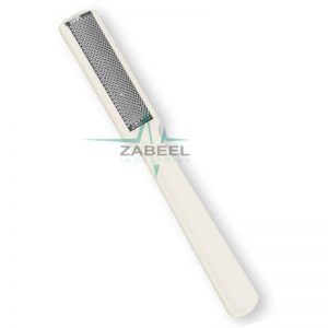 Stainless Callus Rasp Foot File With Plastic Handle ZaBeel