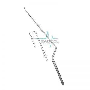 Fahlbusch Micro Curette Bayonet Shaped, Malleable Zabeel