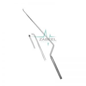 Fahlbusch Micro Scoop Bayonet Shaped, Malleable Zabeel