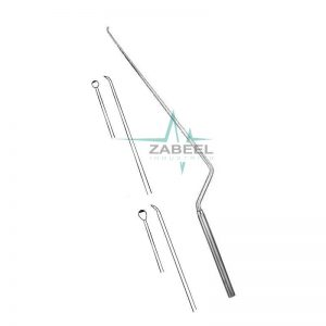 Landolt-Reulen Micro Raspatory Bayonet Shaped, Rigid Zabeel