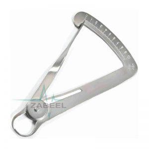 New Dental Castroviejo Measuring Caliper Zabeel